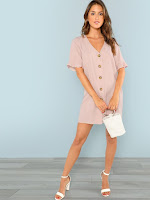 https://fr.shein.com/Ruffle-Cuff-Button-Up-Dress-p-551405-cat-1727.html