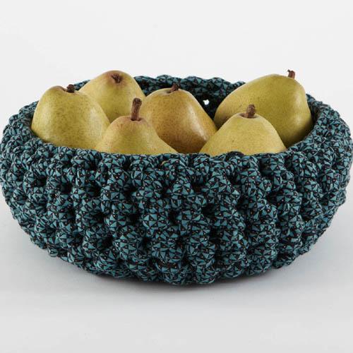Medium Crocheted Bowl - Free Pattern