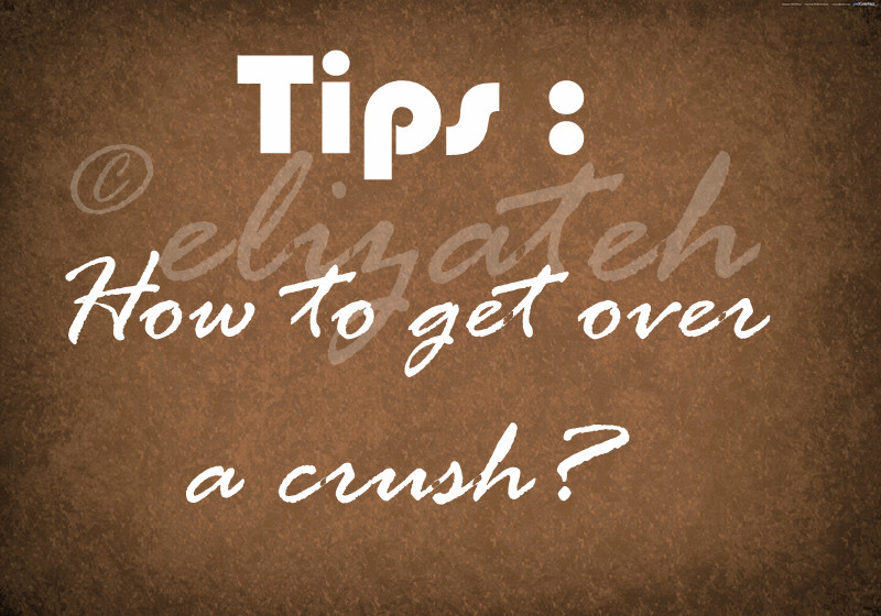 how to get over a crush on a friend