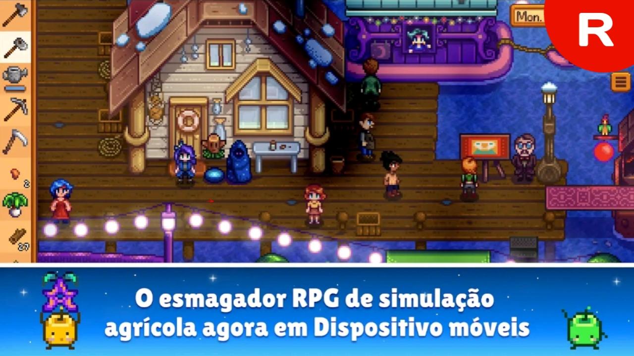 Stardew-Valley apk mod dinheiro infinito novo jogo de RPG