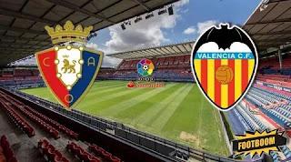 Осасуна - Валенсия смотреть онлайн бесплатно 27 октября 2019 прямая трансляция в 23:00 МСК.