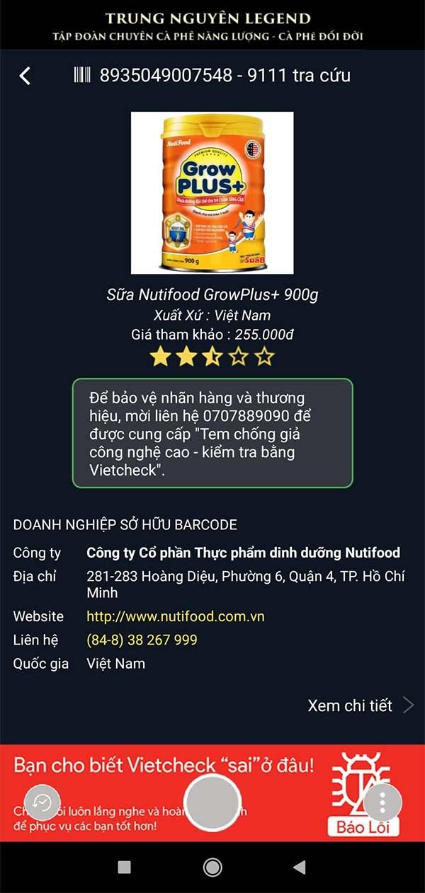 Tải VietCheck - Ứng dụng quét mã vạch, QR Code sản phẩm chính hãng c