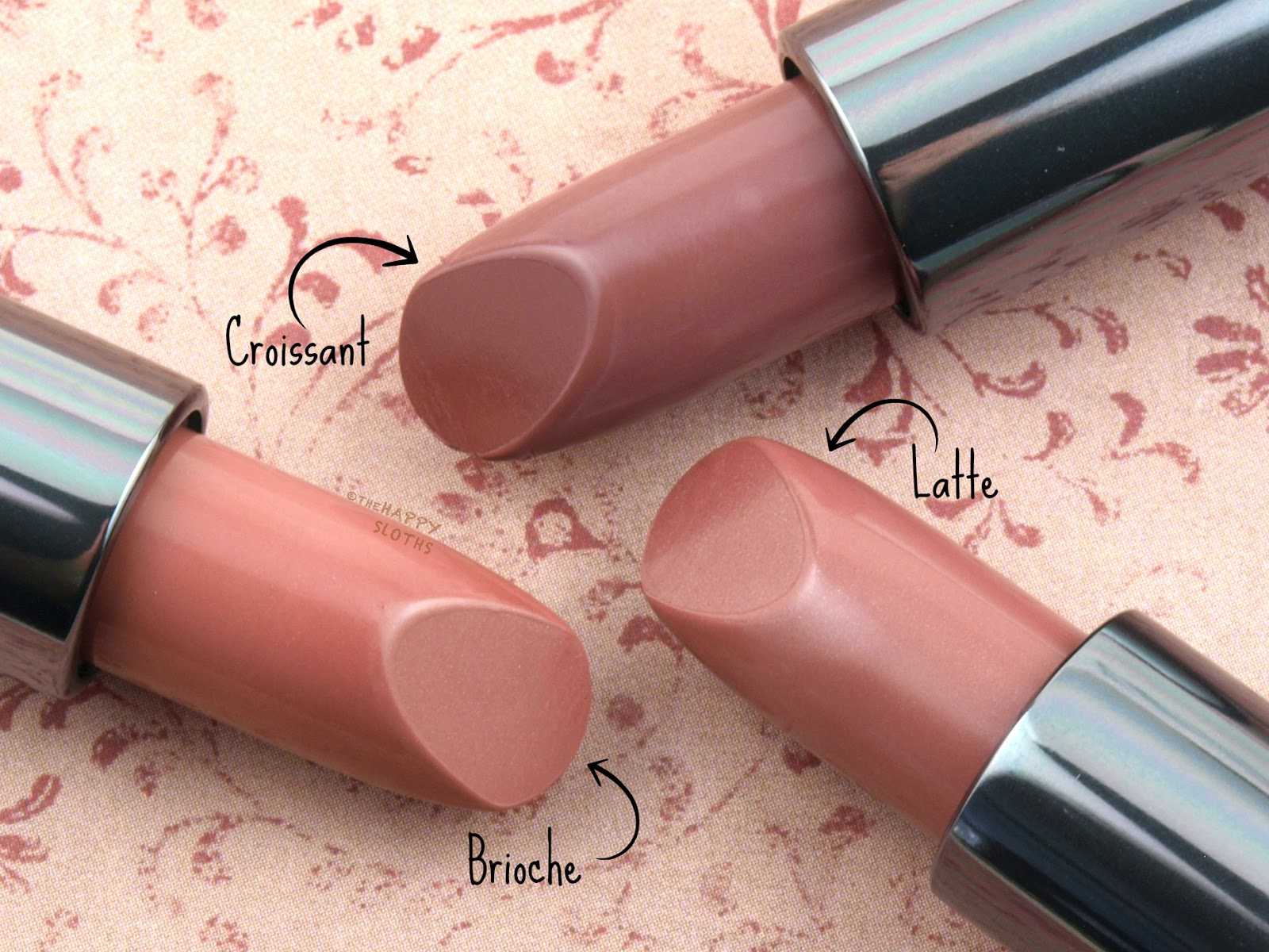 Lise Watier Rouge Gourmand The Nudes Lipstick: Review and Swatches