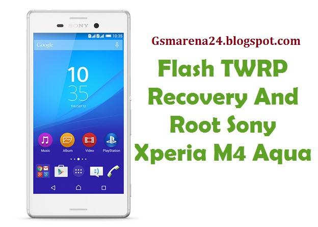 Sony xperia m4 aqua recovery mode