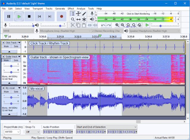 طريقة فصل الصوت عن الموسيقى