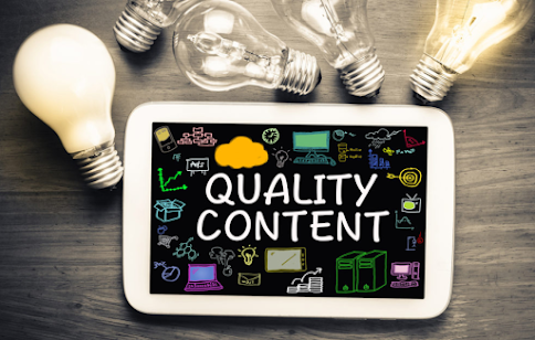 Improve the content quality