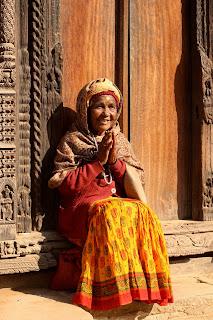 A Nepali woman