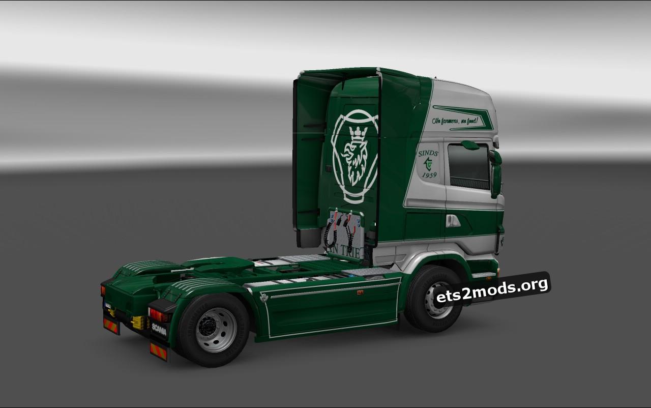 Van Triest Skin for Scania RJL