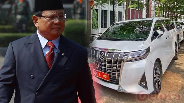 Kenapa Menhan Prabowo Ngantor Tak Pakai Mobil Dinas?