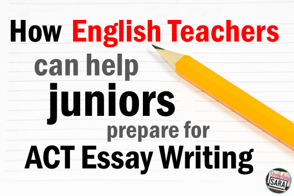 While many students, parents, and even teachers tend to want to blow off tests like the ACT and the SAT, we can't ignore the reality that the ACT Essay has gotten quite challenging. I address some of the important characteristics of the essay portion in this blog post, with helpful tips for teachers to help students who are preparing to take the ACT and the SAT.