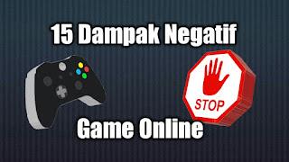 Dampak Negatif Bermain Game Online yang Jarang diketahui