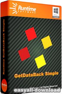 Runtime GetDataBack Simple 3.10 [Full Crack] โปรแกรมกู้ข้อมูลฮาร์ดดิสก์