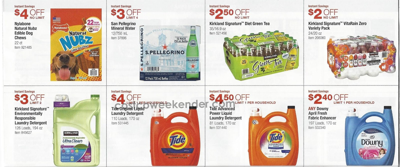 Current Costco Coupon Book August 2015 Costco Weekender