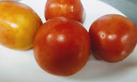 Fresh pieces of tomatoes for butter chicken Murgh makhani recipe