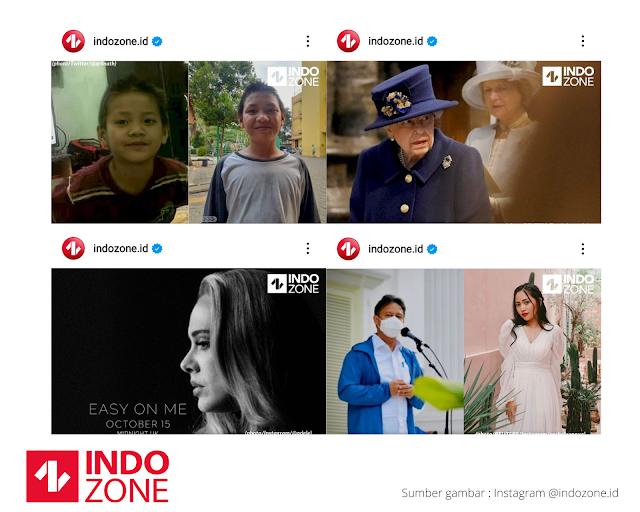 Media sosial Indozone
