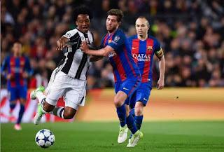 UCL Recap Stingy Juventus Knocks Barca Out