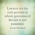 Quotations regarding Lawyers.