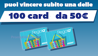 Logo Il Trio Vincente: da Mercatò vinci 100 card da 50€