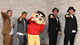 Grup Hip Hop Ketsumeishi Jadi Bintang Tamu Crayon Shin-chan