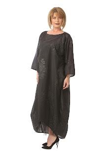 Rochie de seară neagră pentru cununia civilă