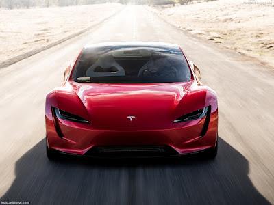 Nouveau roadster Tesla 2020 - est un peu plus différent