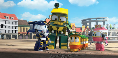 ROBOT TRAINS aposta em ação e aventura protagonizada por equipe com poderes especiais - Divulgação