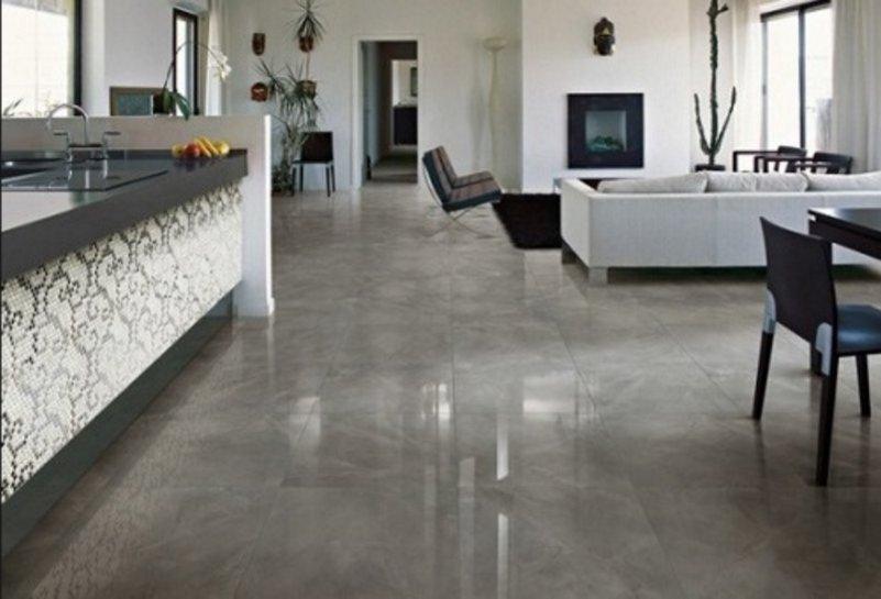 model granit untuk lantai ruang tamu inspiratif