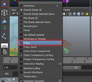 Maya application, Rigging making, animation rigging