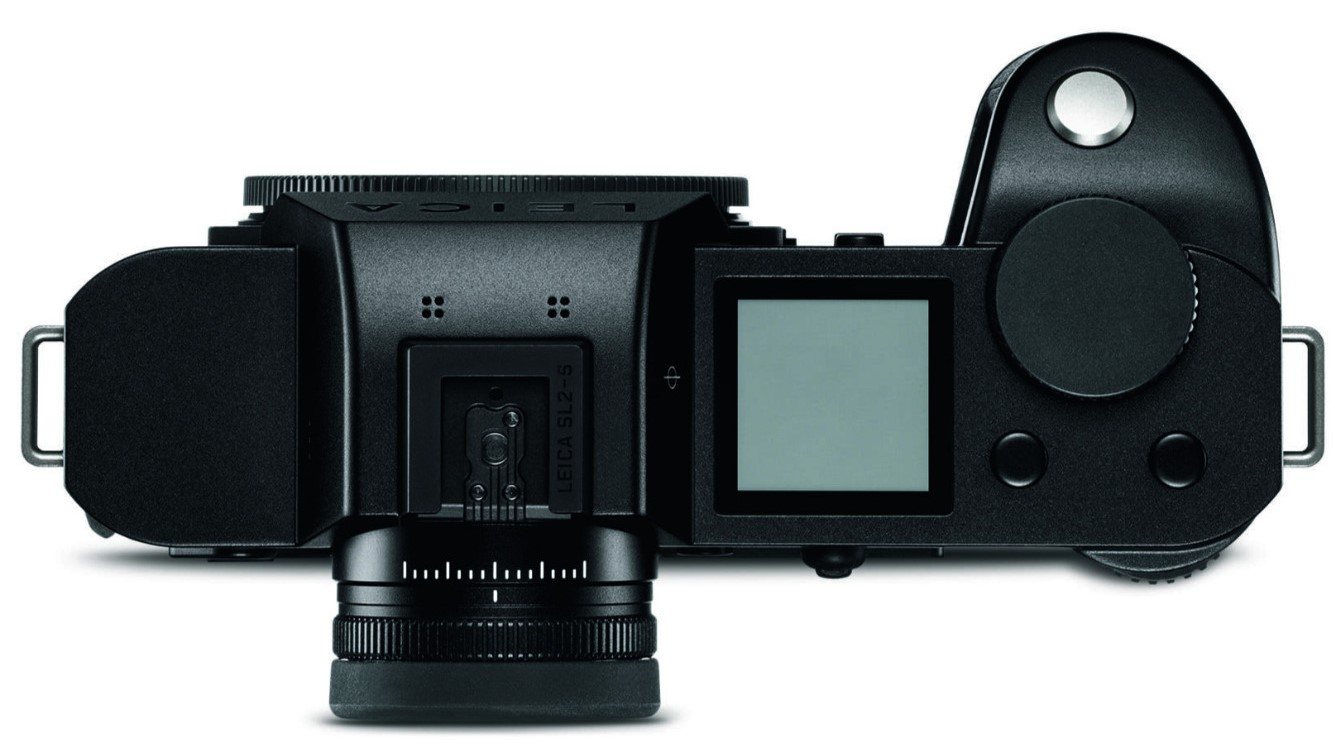 Leica SL2-S, вид сверху