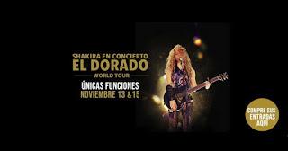 POS1 SHAKIRA en Cine concierto | El Dorado World Tour
