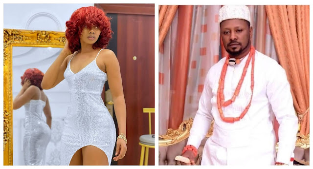 I am sorry for dragging you into this isssue- Tonto Dikeh ex-lover Prince Kpokpogri apologizes to dancer Jane mena