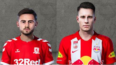 PES 2020 Faces Patrick Roberts and Dominik Szoboszlai by Vojasrbin