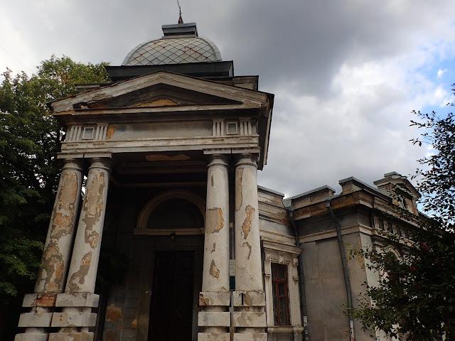 Wschodnia architektura w Odessie