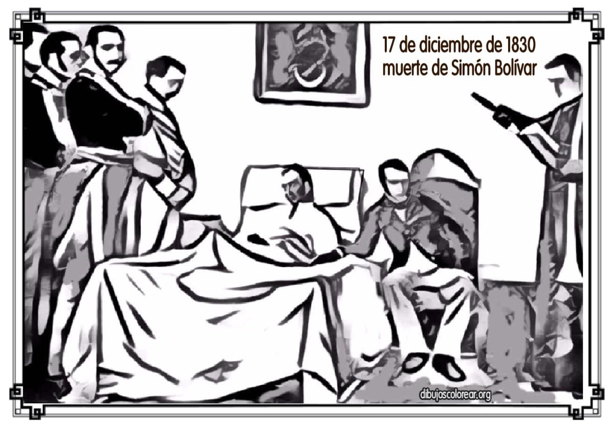 Simón Bolivar Archivos Dibujos Colorear