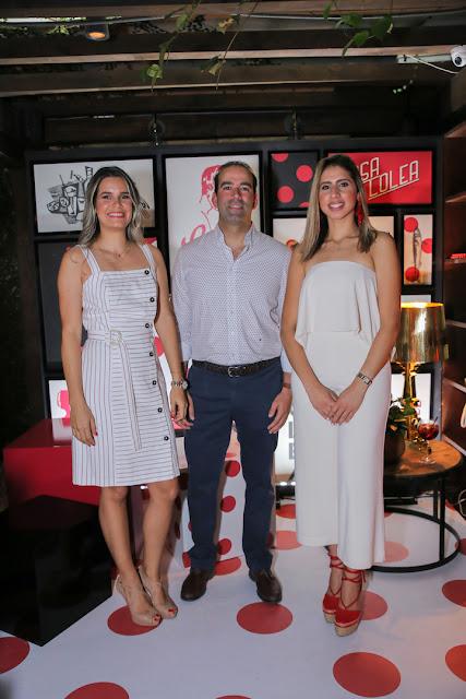 Melissa Martínez, Mariano González y Sarah Duran