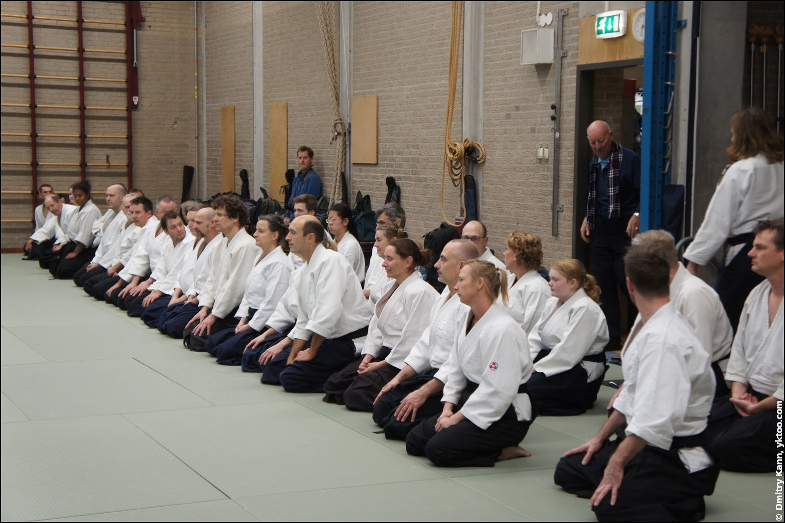 The seminar at Aikido Centrum Leiden.