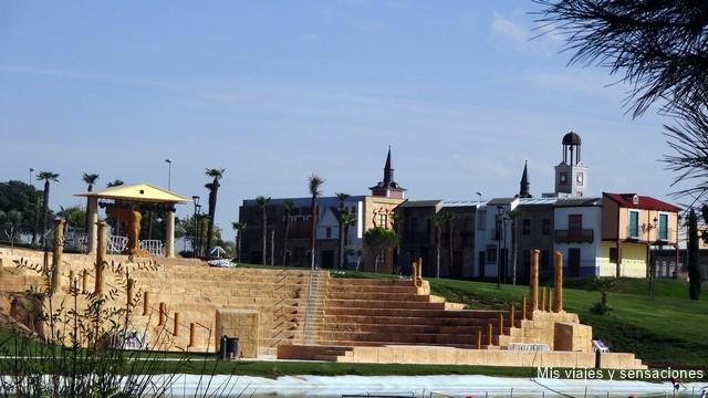 Teatro griego, Parque Europa, Torrejón de Ardoz (Madrid)