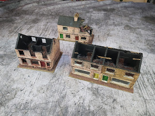 Three buildings are completed