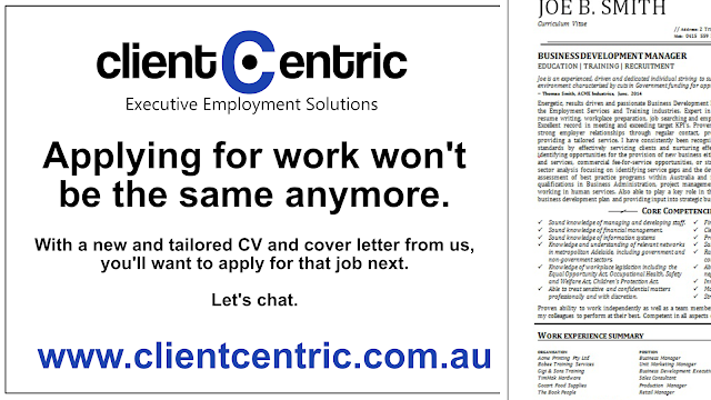 Resume Writing Services By Client Centric Executive Employment Solutions