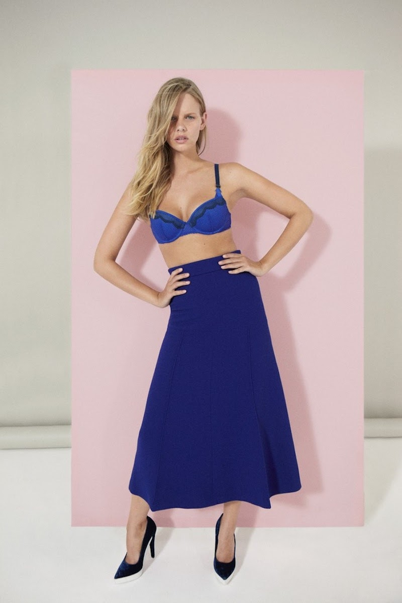 16d76586d Here comes fabulous AW13 lingerie lookbook by Stella McCartney! The new  lookbook gets spotlighted with starring Marloes Horst