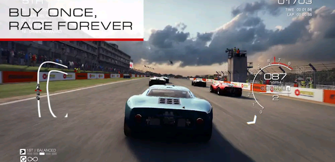 Grid autosports Android apk+obb download