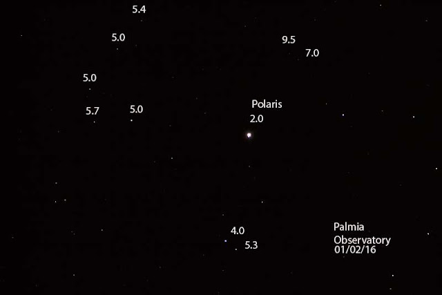 Palmia Observatory astronomers make first relative magntitude attempt
