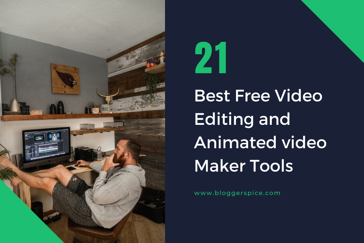 Create Your Own Videos for Free with 19 Best Free Online Video Maker and Editor with music effects and no watermark.