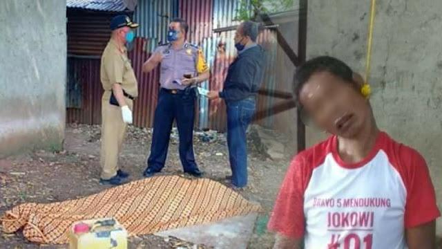 Gegerr! Warga Mengenakan Kaos 'Pendukung Jokowi' Ditemukan Tewas Gantung Diri