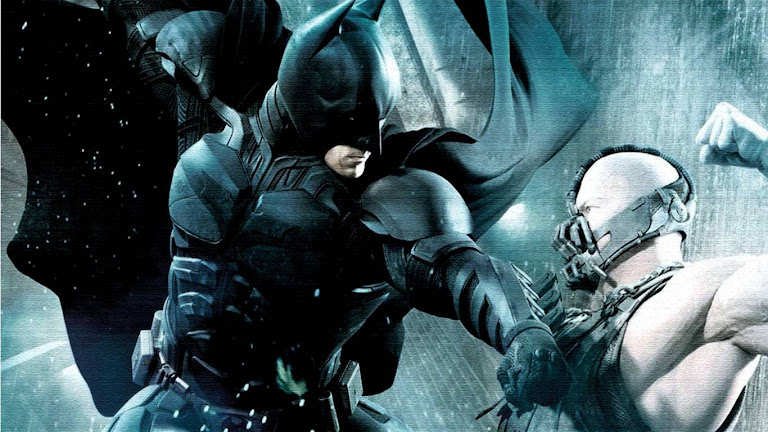 Batman Bane Fight HD Wallpaper
