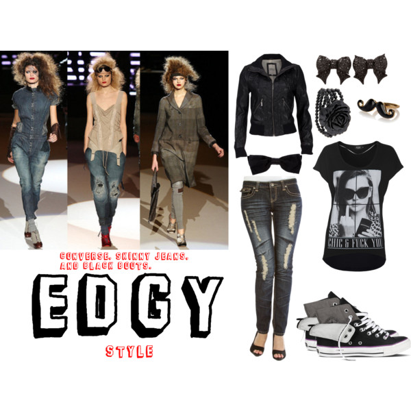 Styl: Edgy