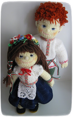 #knitted#doll#Lyudmila#Grigoryeva
