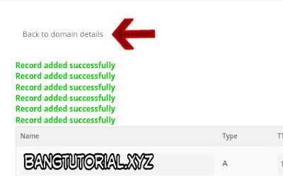 Berhasil Setting DNS Domain Gratis Freenom
