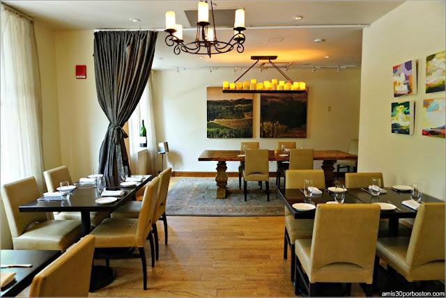Salón Privado del Restaurante Bistro Du Midi en Boston