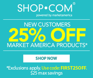 Get 25% OFF their first purchase On Market America
